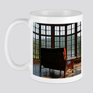 Serene Mountain Home Mug