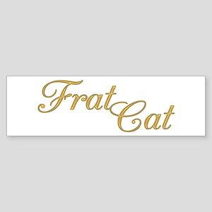 Frat Cat Bumper Sticker