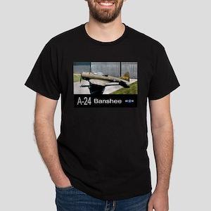 A-24 Banshee Dive Bomber Dark T-Shirt
