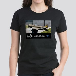 A-24 Banshee Dive Bomber Women's Dark T-Shirt