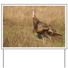 Wild Turkey Yard Sign