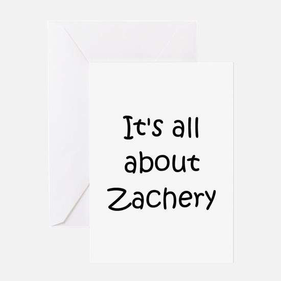 Zachery Greeting Card