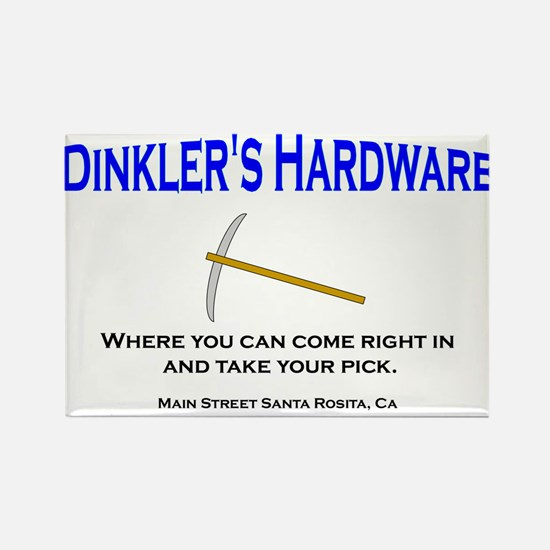 Dinkler's Hardware Store Rectangle Magnet