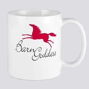 Barn Goddess. Red horse Mug