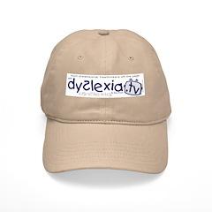 Dyslexia.tv Logo Baseball Cap