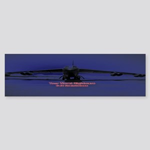B-52 Bomber Bumper Sticker