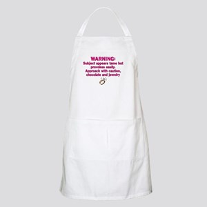 Chocolate & Jewelry BBQ Apron