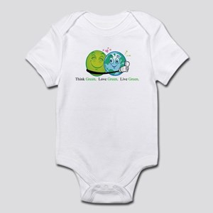 Think. Love. Live. Infant Bodysuit