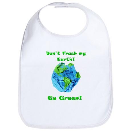 Don't Trash Earth Bib