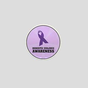 DV Awareness Mini Button