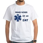 EMT Father White T-Shirt