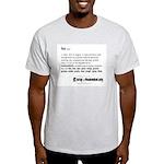 Foo Definition Ash Grey T-Shirt