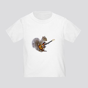 Squirrel Guitar Toddler T-Shirt