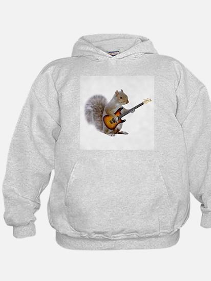 Squirrel Guitar Hoodie