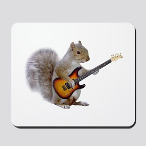 Squirrel Guitar Mousepad