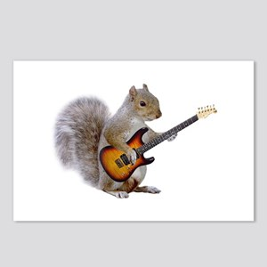 Squirrel Guitar Postcards (Package of 8)