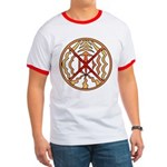Native Spirit Art Ringer T