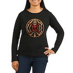 Native Spirit Art Women's Long Sleeve Dark T-Shirt