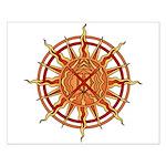 Native Spirit Art Small Poster