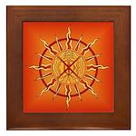 Native Spirit Art Framed Tile