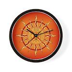 Native Spirit Art Wall Clock