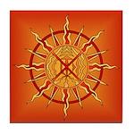 Native Spirit Art Tile Coaster