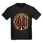 Native Spirit Art Kids Dark T-Shirt
