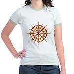 Native Spirit Art Jr. Ringer T-Shirt