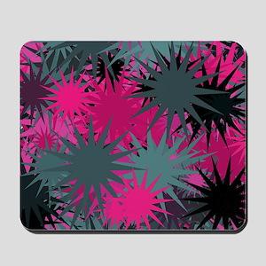 Sticker Burrs Splatter Mousepad