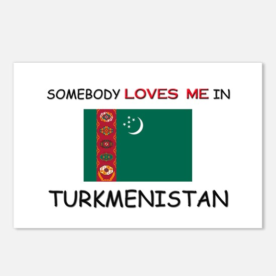 Somebody Loves Me In TURKMENISTAN Postcards (Packa