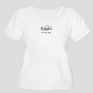 Hit The Hay Women's Plus Size Scoop Neck T-Shirt