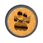 Tiger Tracker Wall Clock