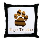 Tiger Tracker Throw Pillow