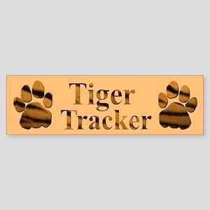 Tiger Tracker Bumper Sticker