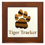 Tiger Tracker Framed Tile