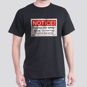 Notice / Civil Servants Dark T-Shirt