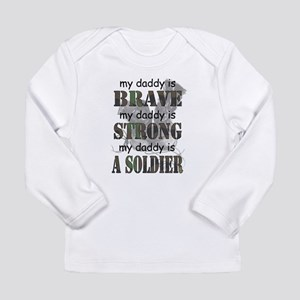 Daddy is a Soldier Long Sleeve T-Shirt