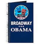 BROADWAY FOR OBAMA Journal