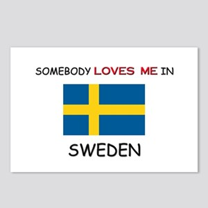 Somebody Loves Me In SWEDEN Postcards (Package of