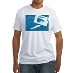 Chain Eye Fitted T-Shirt