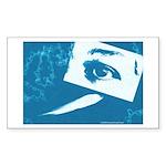 Chain Eye Rectangle Sticker 10 pk)