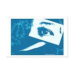 Chain Eye Mini Poster Print