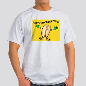 HAPPY HOLLOWEENIE Ash Grey T-Shirt