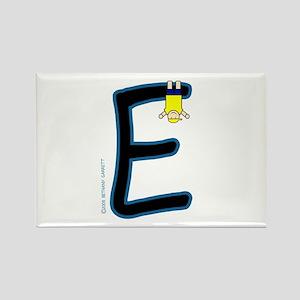 E (Boy) Rectangle Magnet