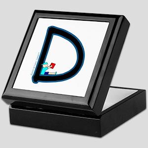D (Boy) Keepsake Box