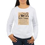 Wanted The Earps Women's Long Sleeve T-Shirt