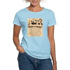 Wanted The Earps Women's Light T-Shirt