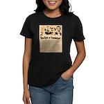 Wanted The Earps Women's Dark T-Shirt