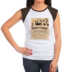 Wanted The Earps Women's Cap Sleeve T-Shirt