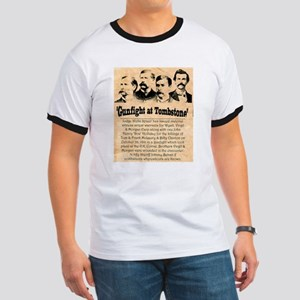 Wanted The Earps Ringer T